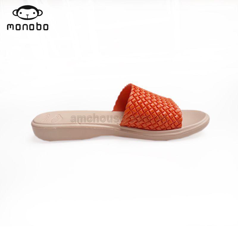 Dép Thái nữ mang trong nhà MONOBO - MONIGA 4.4 - BEGIE QUAI CAM