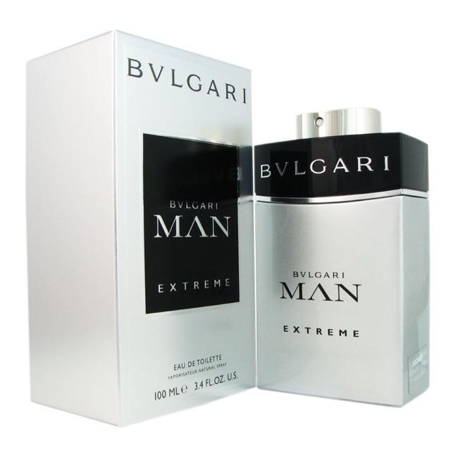 Nước hoa nam Bvlgari Man Extreme 100ml (màu bạc)