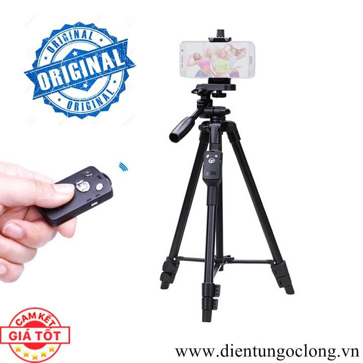 Bộ Tripod Máy Ảnh, Điện Thoại Kèm Remote Bluetooth VCT-5208 - 2657564 , 698391942 , 322_698391942 , 330000 , Bo-Tripod-May-Anh-Dien-Thoai-Kem-Remote-Bluetooth-VCT-5208-322_698391942 , shopee.vn , Bộ Tripod Máy Ảnh, Điện Thoại Kèm Remote Bluetooth VCT-5208