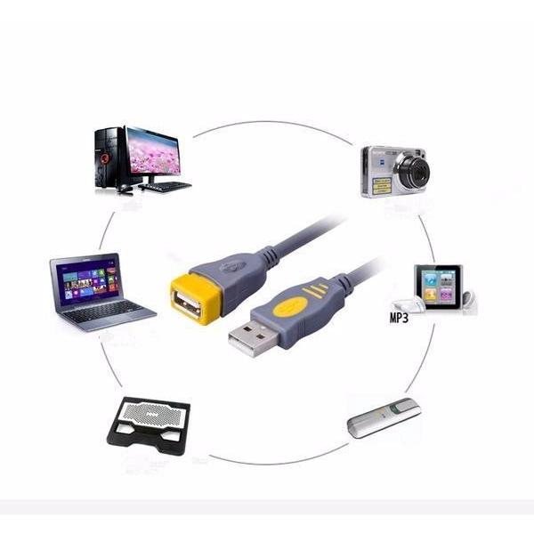Cáp nối dài USB 2.0 dài 1m cao cấp -dc2108