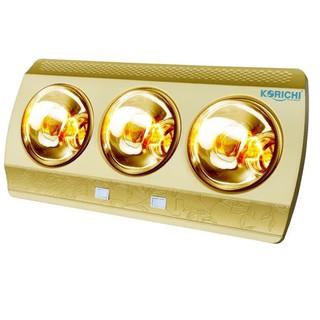 Đèn sưởi nhà tắm/ đèn sưởi treo tường Korichi-2603 (3 bóng)