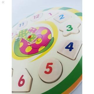 Đồng hồ học giờ và phân biệt hình khối màu sắc HÀNG CÒN TRONG KHO