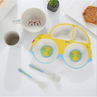 Oder sll- Set ăn dặm cho bé 5in1 hàng nhựa cao cấp xuất Nhật