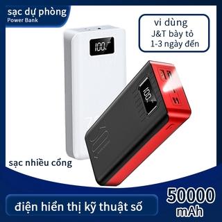 Sạc Dự Phòng Essager 50000mAh Cổng USB Di Động Tương Thích Với Tất Cả Điện Thoại Di Động
