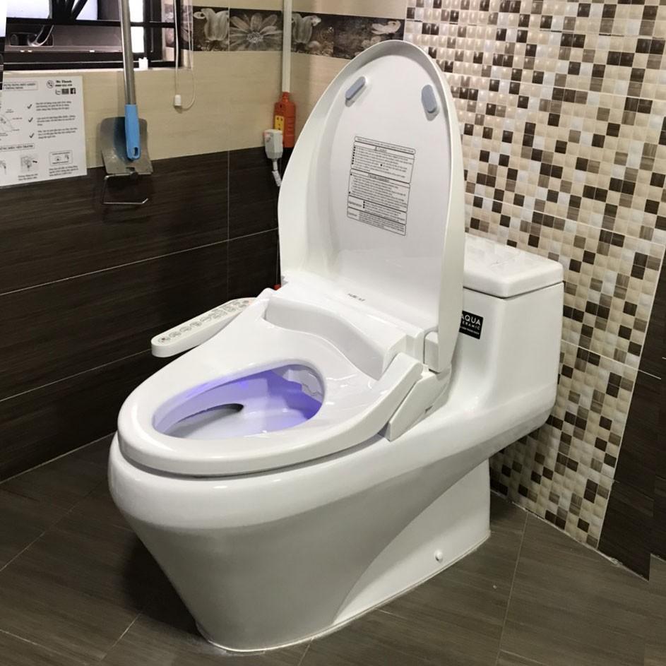 Nắp bồn cầu thông minh Mirai - Rửa nước ấm, làm ấm bệt ngồi, sấy khô và massage