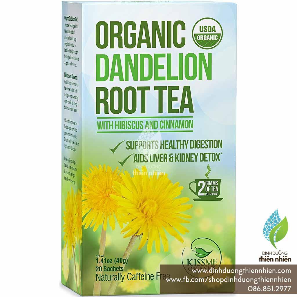 Trà Hữu Cơ Rễ Cây Bồ Công Anh Kiss Me Organic Dandelion Tea, Giúp Giải Độc Gan Thận, 20 gói, 40g - 2551899 , 1012871711 , 322_1012871711 , 155000 , Tra-Huu-Co-Re-Cay-Bo-Cong-Anh-Kiss-Me-Organic-Dandelion-Tea-Giup-Giai-Doc-Gan-Than-20-goi-40g-322_1012871711 , shopee.vn , Trà Hữu Cơ Rễ Cây Bồ Công Anh Kiss Me Organic Dandelion Tea, Giúp Giải Độc Gan