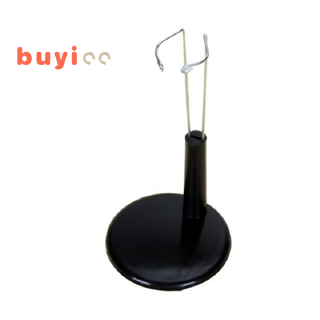 Support display stand of doll adjustable Black 4.3 – 5.5 inches