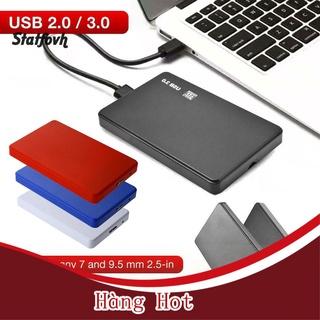 [ Hàng Hot ] Hộp Đựng Ổ Cứng Sata Hdd Ssd 2.5 Inch Cho Laptop thumbnail