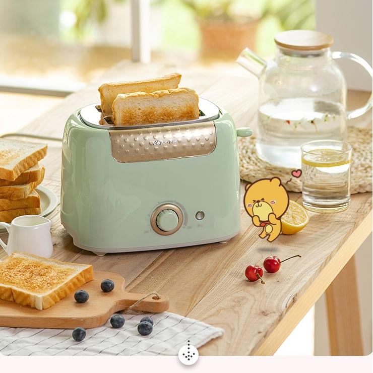 Lò nướng bánh mì lát chính hãng Bear