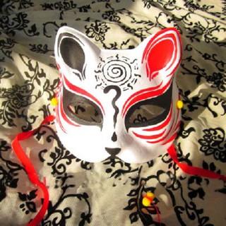 Mặt nạ mèo vẽ_06 (Mask fox-cosplay)
