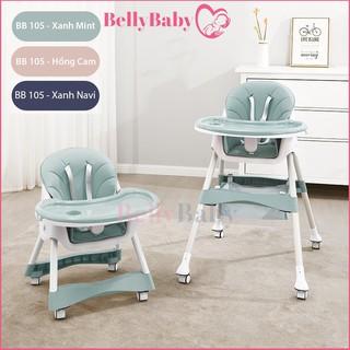 Ghế Ăn Dặm Belly Baby, Full Phụ Kiện Dành Cho Bé (Model BB102 Và BB105)