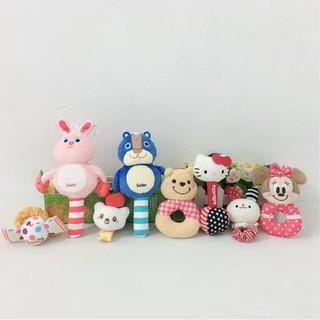 Lục Lạc Cầm Tay Bằng Vải Nhung Lông Phong Cách Nhật Bản Dành Cho Trẻ Nhỏ 0-3 – 6 Tháng
