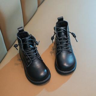 Giày bốt KIDBLUE linh hoạt chống trượt ấm áp phong cách Hàn Quốc thời trang cho bé gái thumbnail