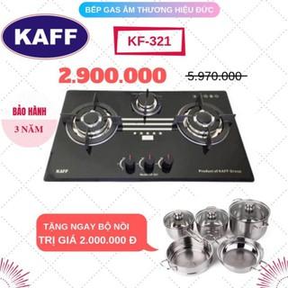 BẾP GAS ÂM KAFF KF-321, bảo hành chính hãng 3 năm