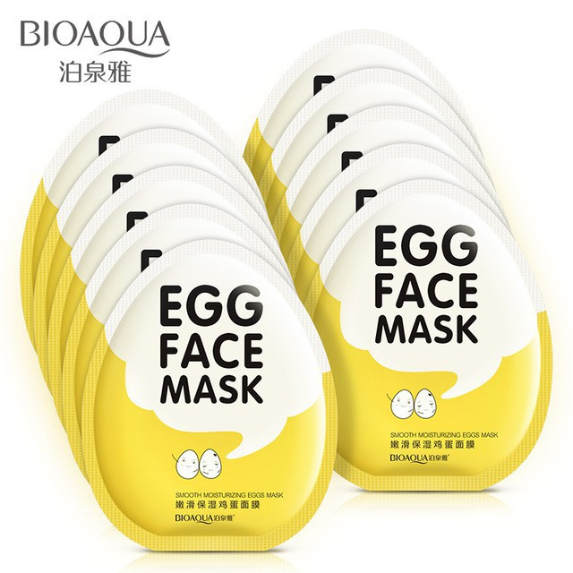 Mặt nạ Trứng EGG FACE MASK nội địa Trung Bioaqua