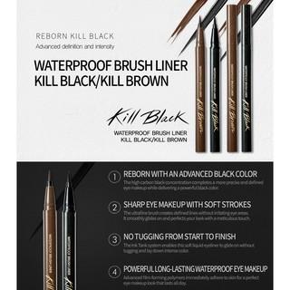 BÚT DẠ KẺ VIỀN MẮT KHÔNG TRÔI CLIO WATERPROOF BRUSH LINER KILL BLACK thumbnail