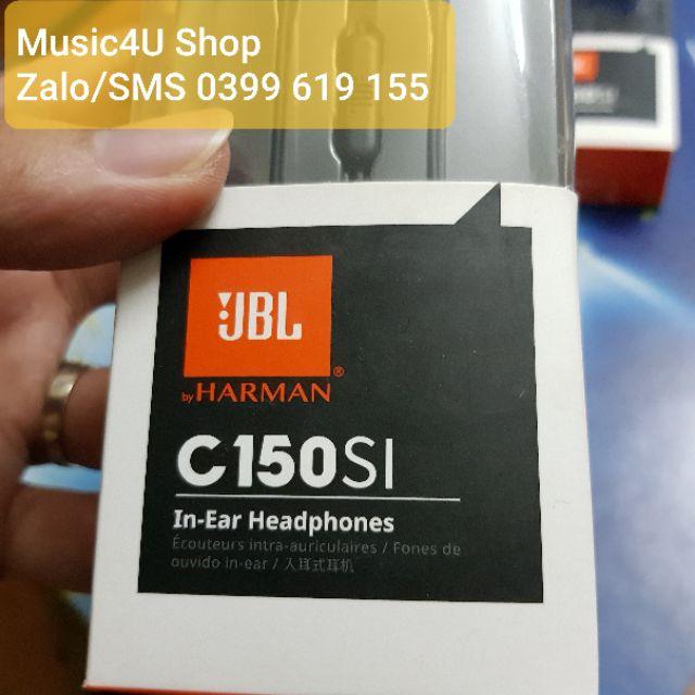 Tai nghe JBL 150SI, bass siêu tốt, Jack 3.5 mạ vàng [Music4U]