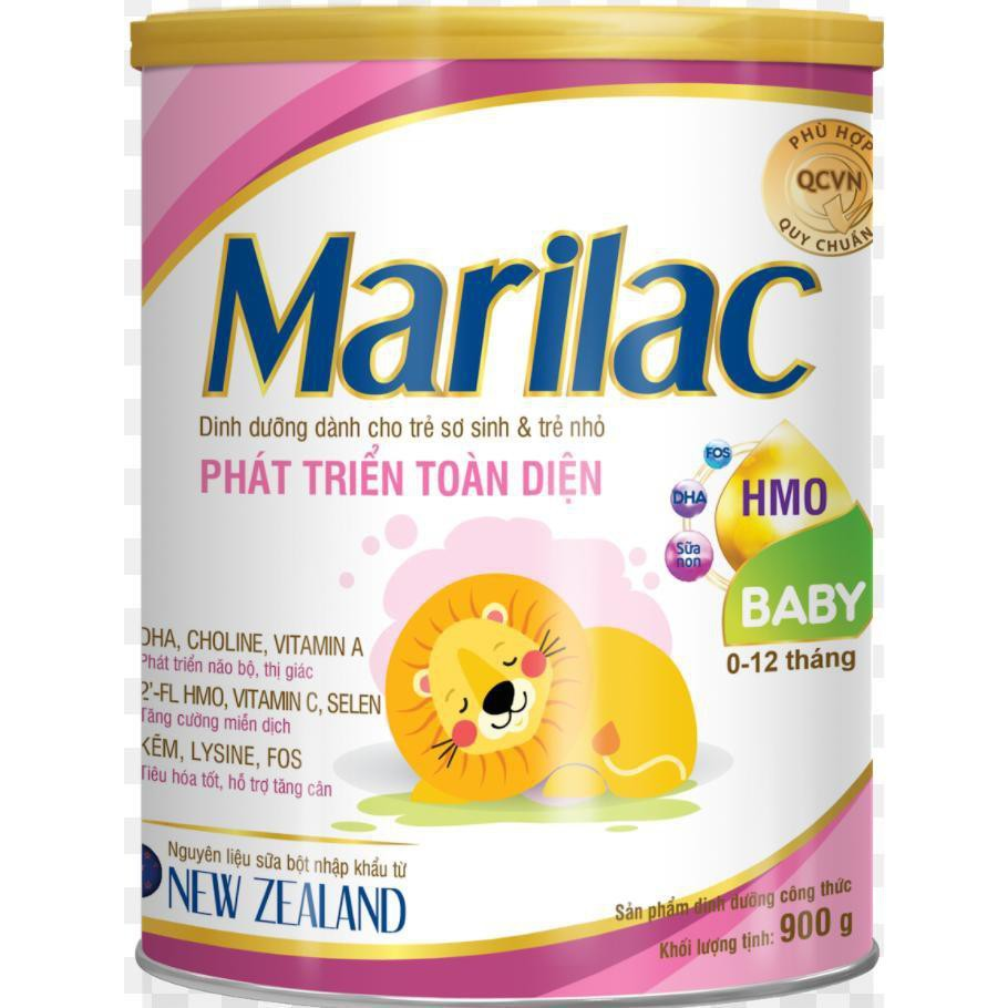 Sữa Marilac baby 900g