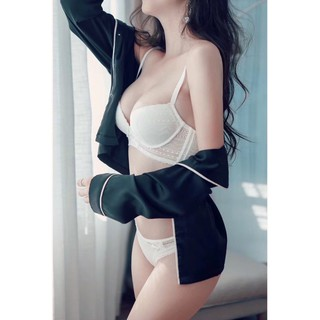 Bộ đồ lót KL ren nâng ngực không gọng – BL