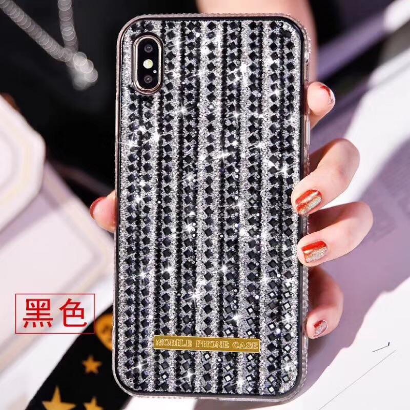 ốp lưng đính đá lấp lánh xinh xắn cho iphone