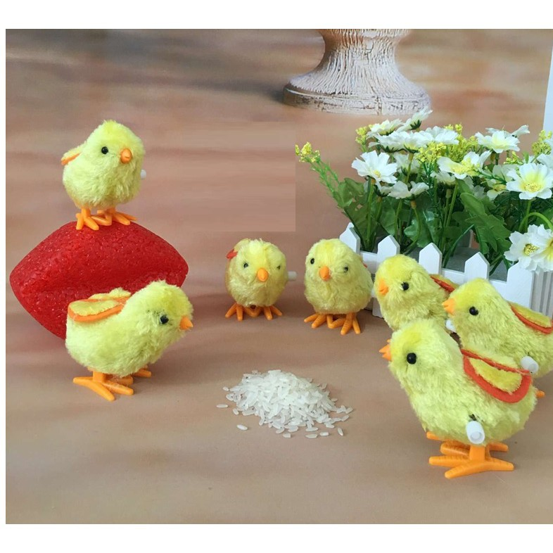 SALES SẬP SÀN_ Đồ chơi lên dây cót hình con gà đáng yêu theo phong cách hoạt hình cho trẻ...
