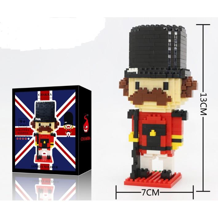 Lắp ghép LEGO mẫu lính số 6