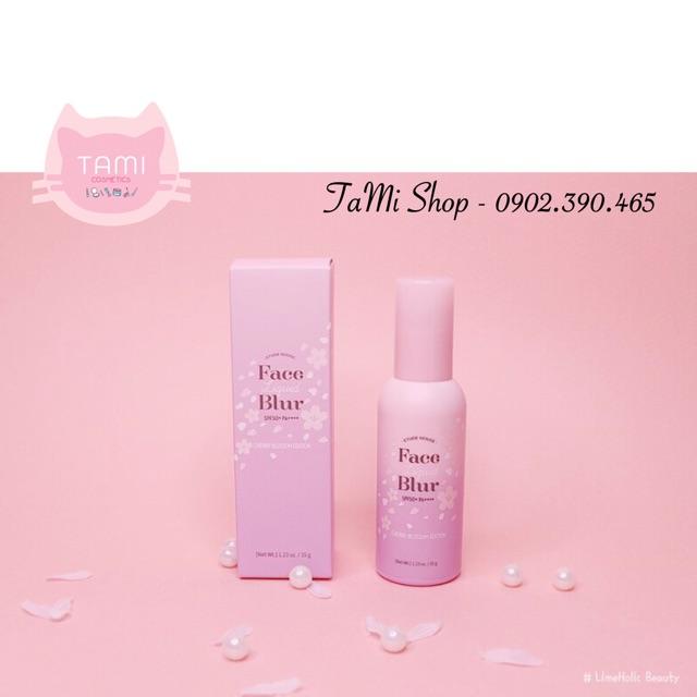 [ Có Bill ] Kem Lót Etude House FACE LIQUID BLUR SPF50+ PA+++ [ Cherry Blossom Edition ]