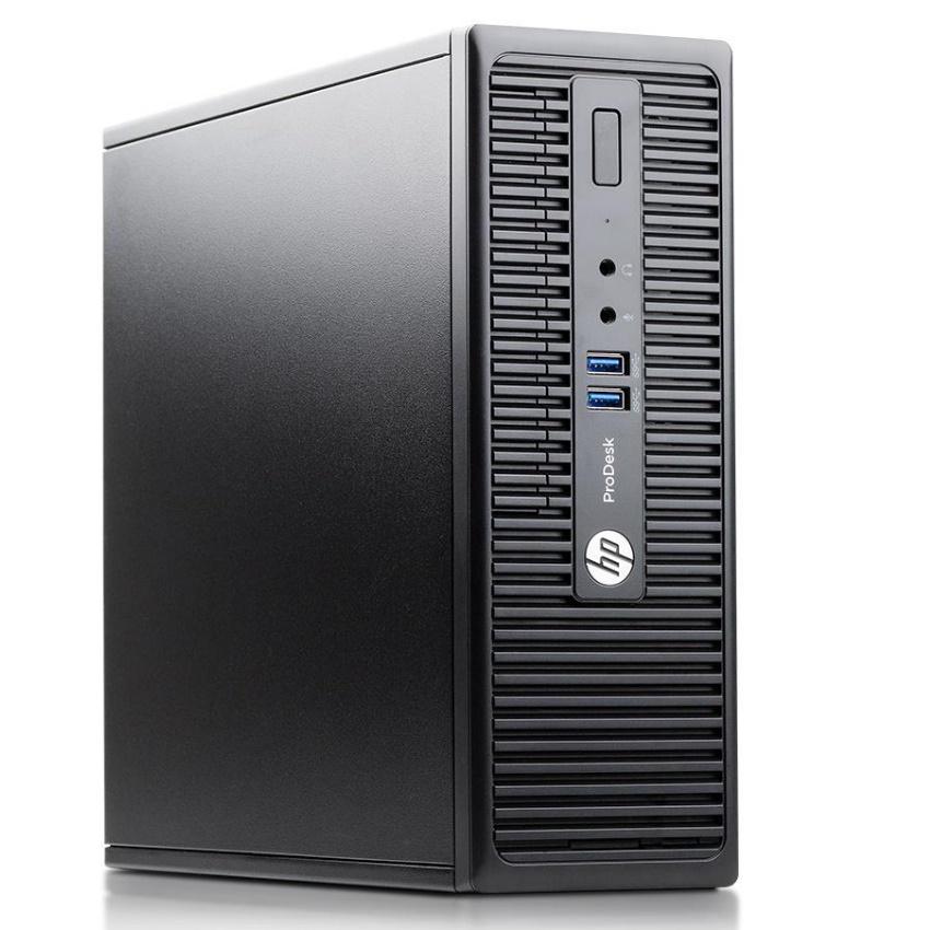 Case máy tính đồng bộ HP ProDesk 400G3 SFF, cpu core i3-6100, ram 8GB, SSD 512GB + HDD 500GB Tặng USB thu Wifi