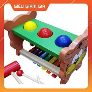 (Giảm Giá Khủng) Đồ chơi gỗ gõ phát ra âm thanh–6405 (Rẻ Vô Địch)