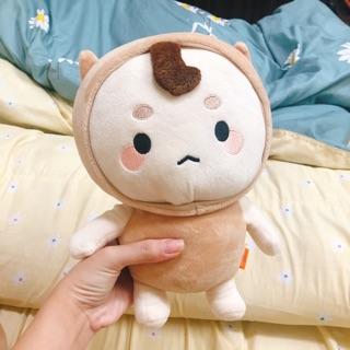Gấu bông Tiểu yêu tinh Lúa Mạch Cute, gấu bông bé, búp bê