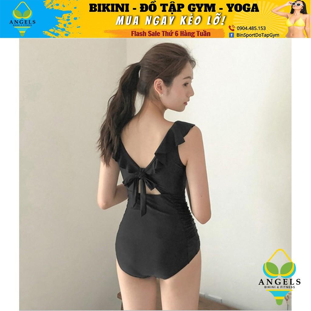 Bikini,Bộ Đồ Bơi Body Trễ Vai Đen,Hàng Nhập Đủ Size M L XL, BHN014 [ Giá Sỉ ]