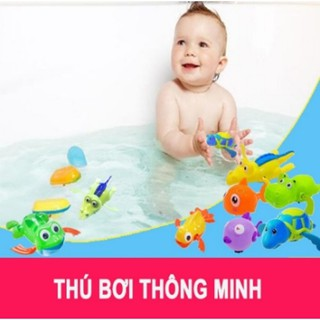 Thú vặn cót bơi trong nước cho bé – Đồ chơi cá bơi trong nước cho bé tốt nhất giá rẻ nhất