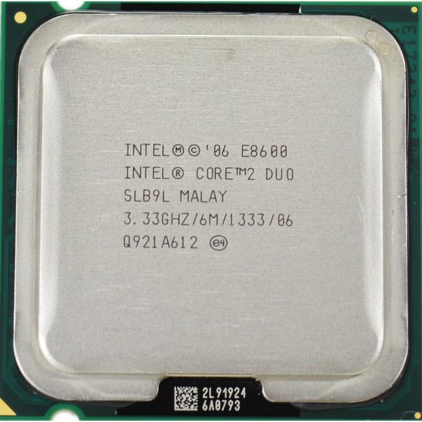 Cpu  E8600 dòng cao nhất Socket 775