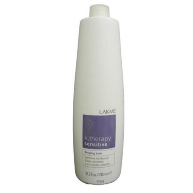 Kem xả khô chăm sóc da đầu nhạy cảm K.Therapy Lakme Relaxing Balm 1000ml
