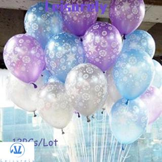 💜LEILY💜 12PCs Birthday Romantic Gifts Party Supplies Christmas Wedding Balloons