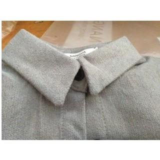Áo sơ mi nữ có thể làm áo khoác(đang sẵn màu trắng)