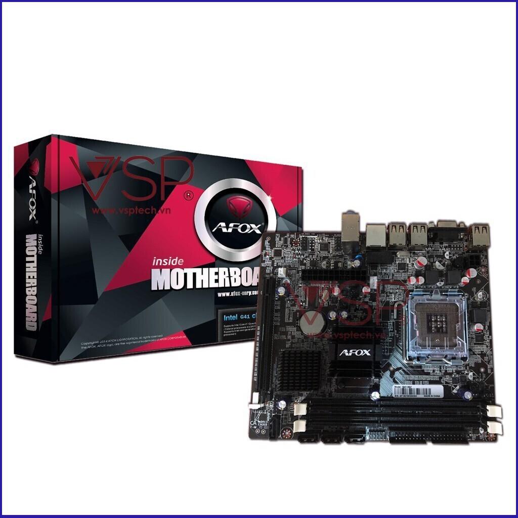 (Giá Siêu Hot) Thiết bị điện tử Main AFOX-Socket 775, Intel® G41 - 14509952 , 2287966663 , 322_2287966663 , 1798000 , Gia-Sieu-Hot-Thiet-bi-dien-tu-Main-AFOX-Socket-775-Intel-G41-322_2287966663 , shopee.vn , (Giá Siêu Hot) Thiết bị điện tử Main AFOX-Socket 775, Intel® G41