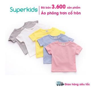 Áo phông cổ tròn cotton bốn chiều QATE247 cho bé 6-16kg thumbnail