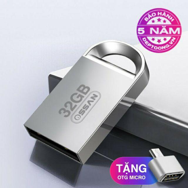 [Tặng OTG] USB siêu nhỏ 32gb – chống nước tốt Giá chỉ 85.000₫
