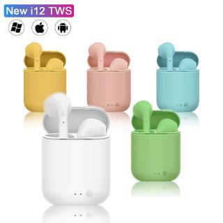 Tai Nghe Nhét Tai I12 Tws Kết Nối Bluetooth 5.0