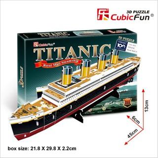 Mô Hình Giấy 3D Tàu Titanic Cubicfun