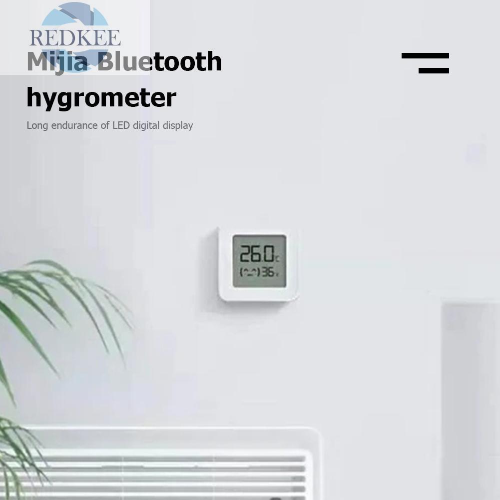 Thiết Bị Đo Nhiệt Độ Độ Ẩm Không Dây Xiaomi Mijia Bluetooth 4.2 2 Lcd