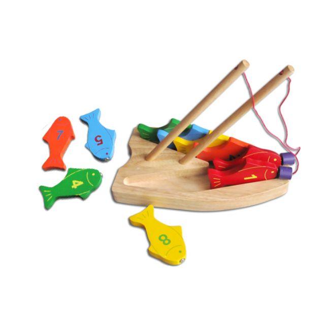 Đồ chơi gỗ Winwintoys 62362 câu cá