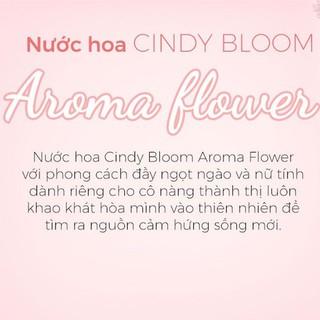 Hình ảnh Nước Hoa Cindy Bloom Aroma Flower 30ml chính hãng-4