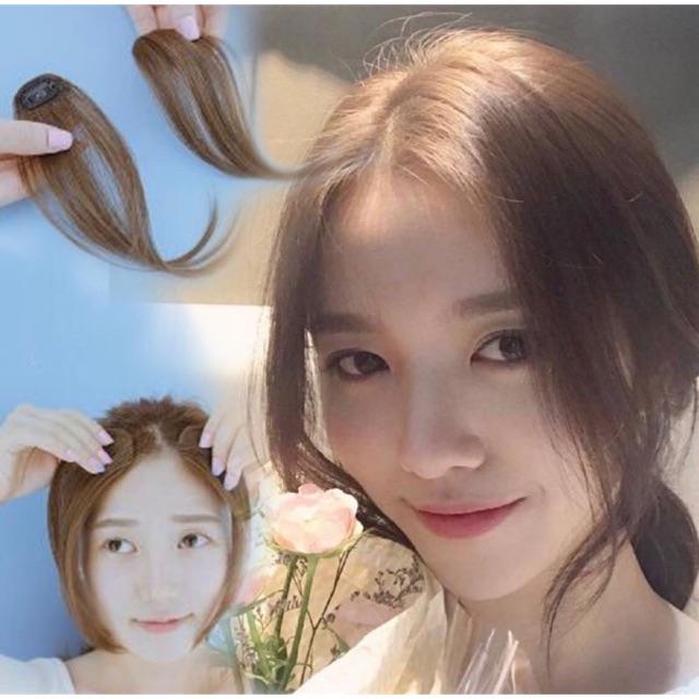 Tóc giả kẹp mái dài thẳng tự nhiên ❤️FREESHIP❤️ tóc giả nữ hàn quốc
