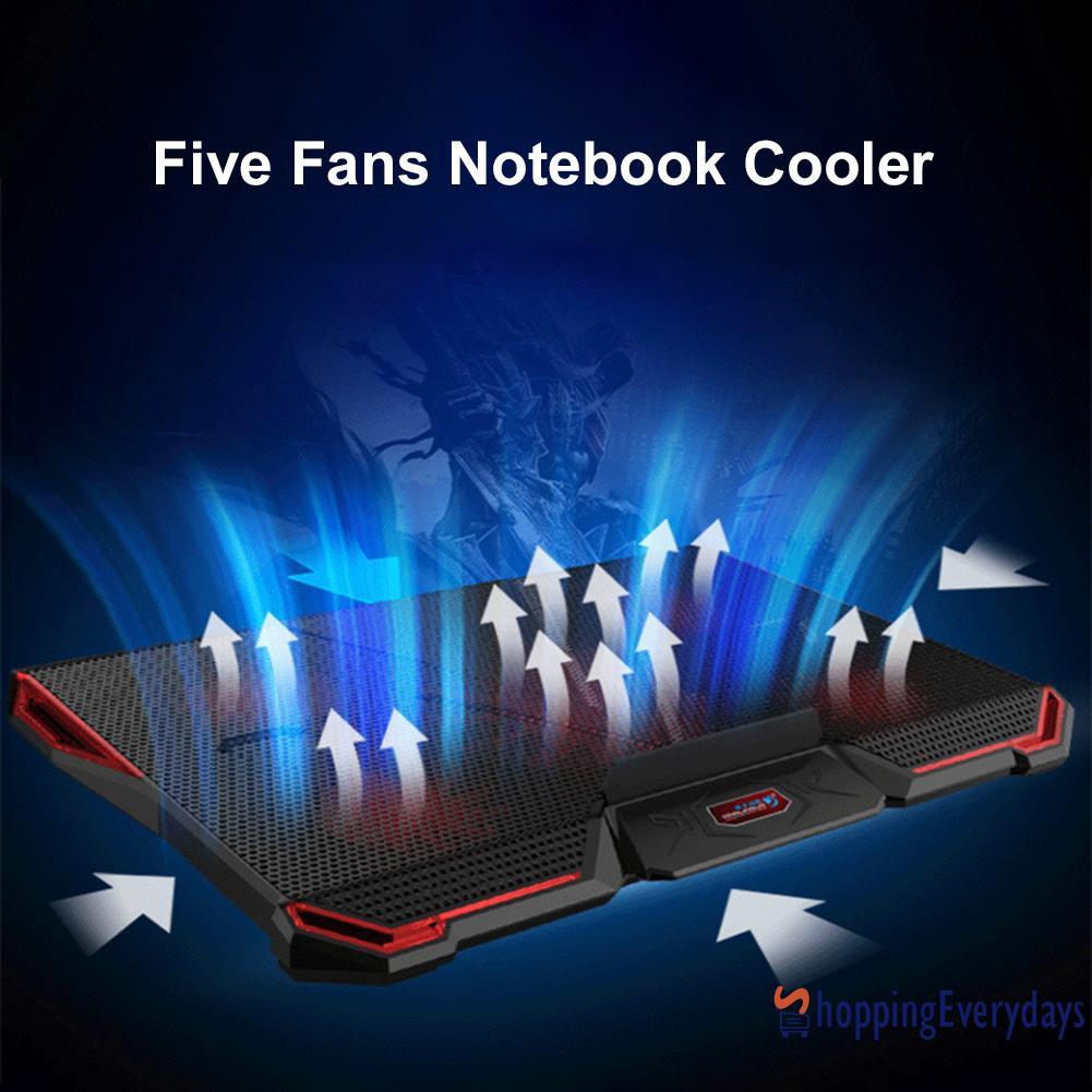 SV Đế Tản Nhiệt Có Đèn Led Cho Laptop - Linh kiện máy tính khác