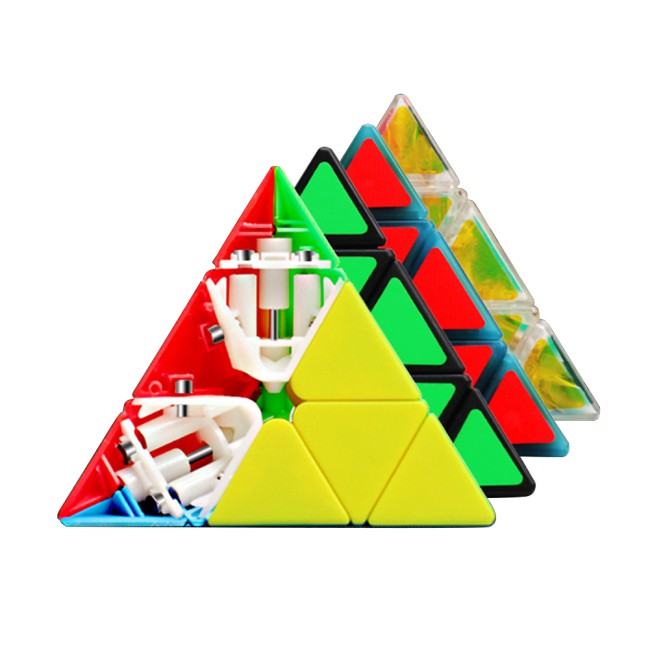 ZCUBE Magnetic Pyramid Pyraminx 3×3 Magic Cube Speed Puzzle Cube Educational