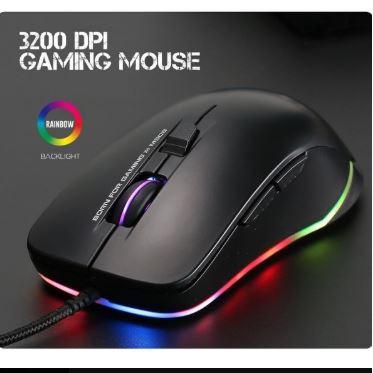 Chuột chuyên game 6D cao cấp Marvo M508 Led RGB - DPI 3200 (Đen)