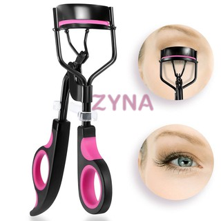 Ready Stock Eyes Makeup Eyelash Curler Professioner Cosmetic Eye Lash Curler With Silicone Refill Pad Curling Lashes Too