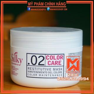 [ Made In Italy ] Kem Hấp Xả Phục Hồi Chăm Sóc Tóc Màu Silky Color Care Mask 250ML Chính Hãng thumbnail